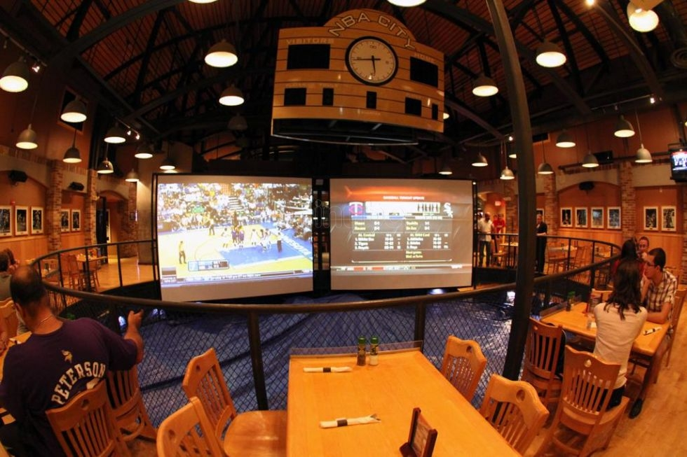 NBA City Restaurant, Orlando, Flórida, Estados Unidos
