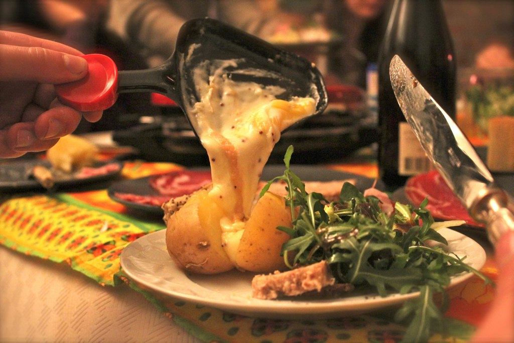 Onde comer raclette